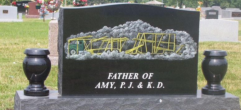 Our talented artists can custom create any kind of design for your monuments.